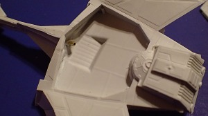 Axanar D6 Main Hull Detail