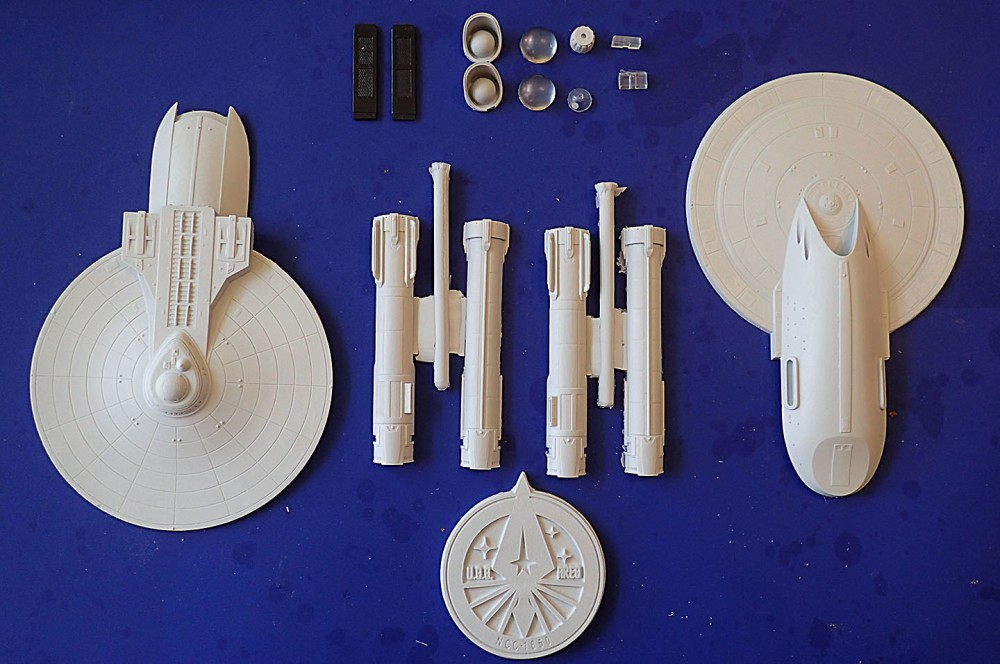 Ares parts layout