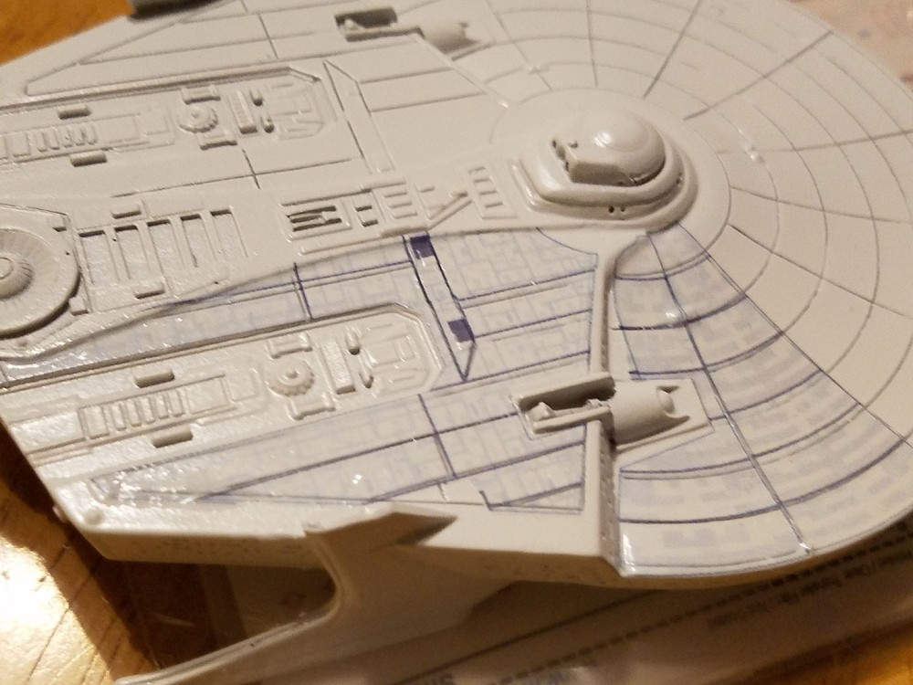 Starcrafts 1/1400 Miranda Class Resin Model Decals 1